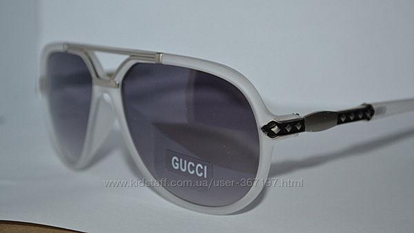 Gucci 6847 солнцезащитные очки в матовой оправе универсальные Италия