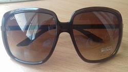 Gucci 3108 солнцезащитные очки в коричневой оправе Италия