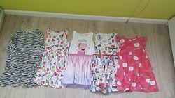 Платья Next, Matalan, H&M 6-8 лет, на рост до 134 см.