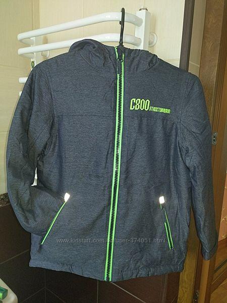 Новая немецкая демисезонная куртка Yigga Topolino р.140