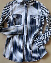 Mango женская рубашка в клетку на размер М