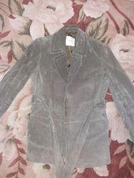 Замшевый пиджак с сайта манго рМ