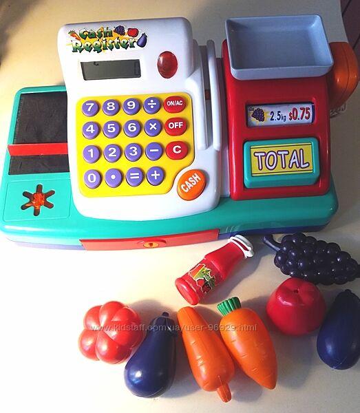 Игрушечный кассовый аппарат Keenway с весами