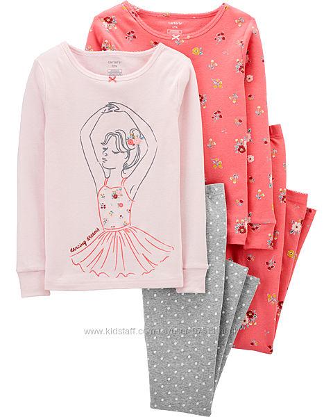 Піжамки Carter&acutes оригінал для дівчинки на 7, 8 років. Балерина.