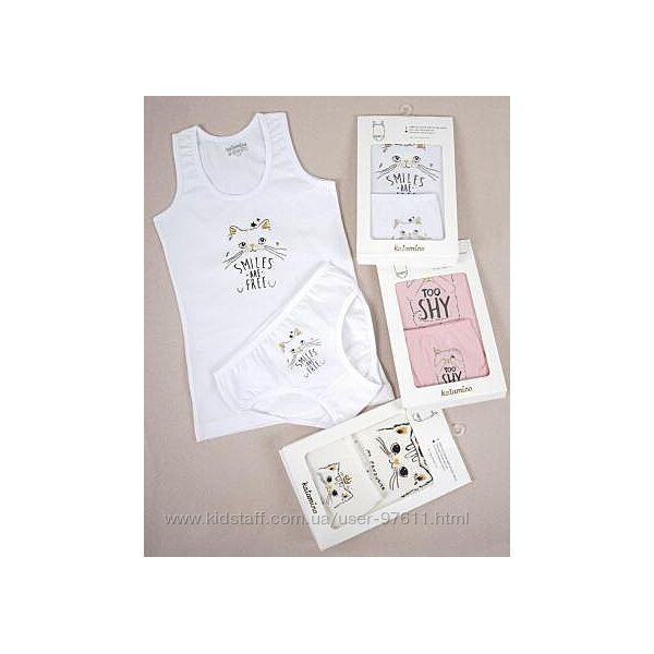 Комплекти дитячої білизни Katamino від 1 до 10 років. Різні кольори фасони