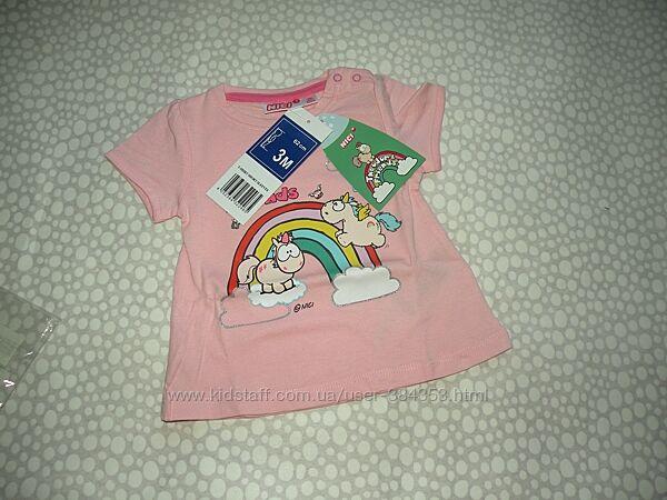 футболка Disney 3 мес