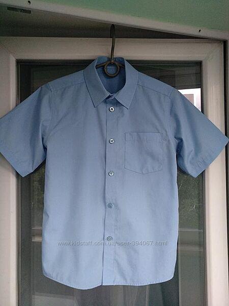 Рубашка, тенниска, шведка Tu 148-152 на 12 лет голубая