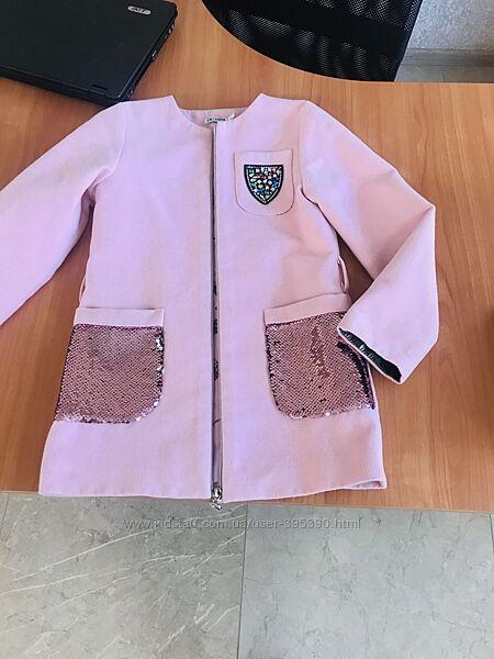 Весеннее пальтишко для маленькой модницы