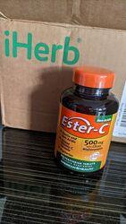 Витамин С, естер-С плюс Вітамін С 500 мг-лучшая форма витамина С