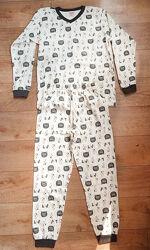 Пижама детская, трикотажная. Хлопок 122-134 р