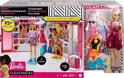Игровой набор Гардеробная комната Barbie Mattel gbk10
