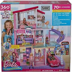 Игровой набор Барби Дом мечты Barbie Dreamhouse Playset with Pool GNH53