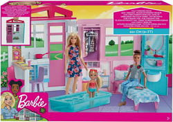 Барби  Раскладной домик mattel barbie FXG54