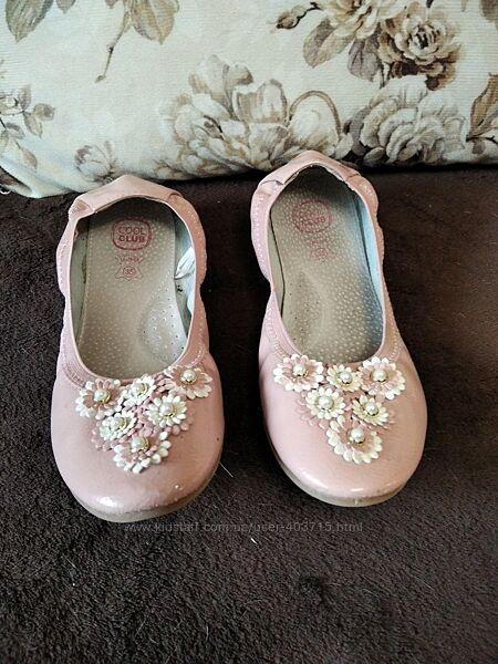Туфлі для дівчинки різні, р. 35