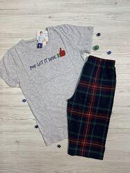 Пижамы для мальчика летние с шортами