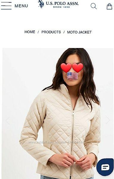 Новая женская куртка US Polo оригинал из США