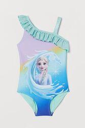 Купальник сдельный Frozen Холодное сердце HM на девочку 98-104 см,2-4 год