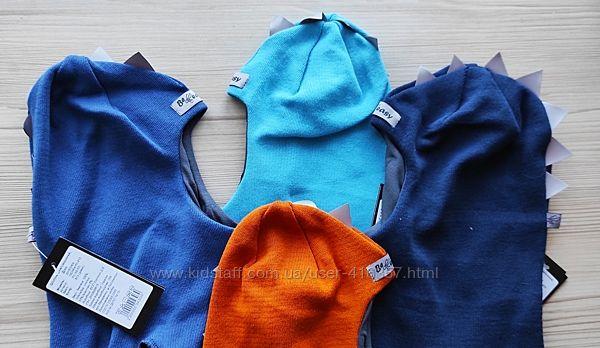 Демисезонный шлем  Be easy 100 хлопка  для мальчиков и девочек