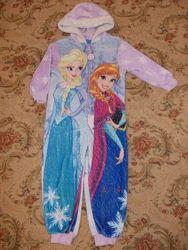 Пижама кигуруми слип комбинезон на 2-3 года рост 92-98см
