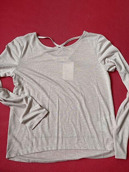 Нарядная блузка-реглан, 10-12 лет