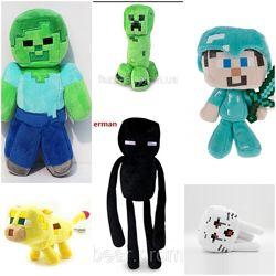 Minecraft игрушки, очки. В наличии