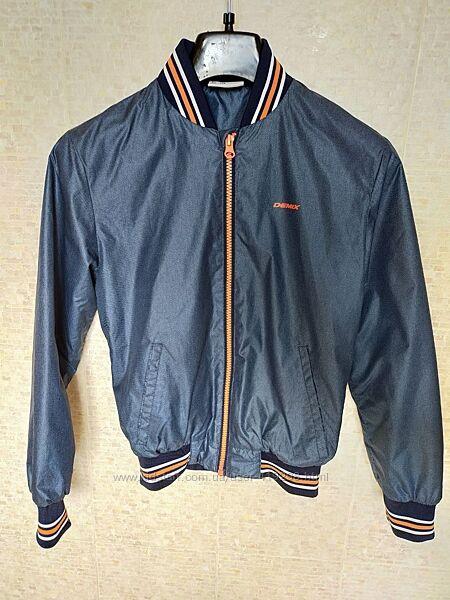 Куртка бомбер demix рост 134-140