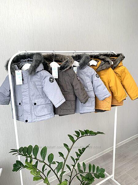Куртка/ парка Primark на мальчика 74,80,86,92см