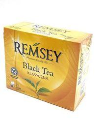 Черный чай Remsey Earl Grey 75пак. Польша