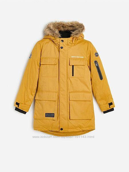 Теплая куртка пальто парка 122