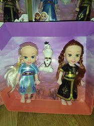 Куклы Фроузен 2 штуки  снеговик