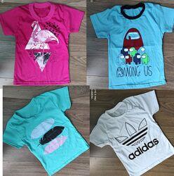 футболки детские есть и для пап