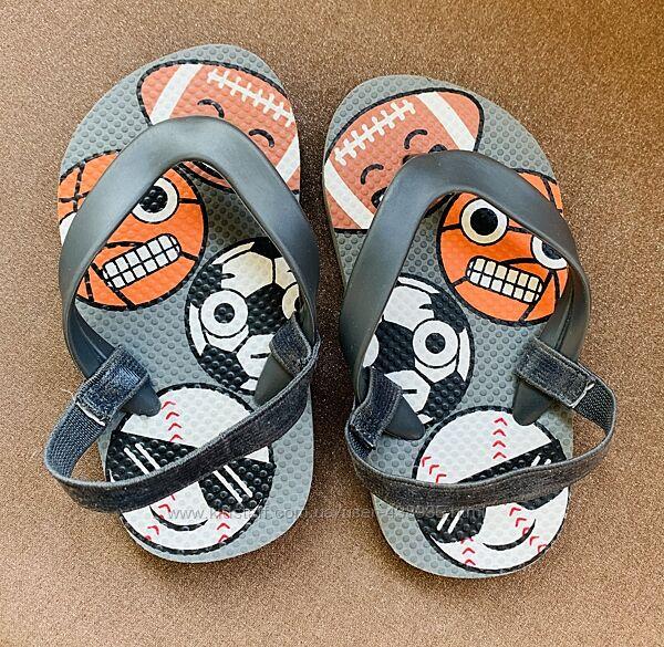 Детские сандали-вьетнамки на резинке для малыша