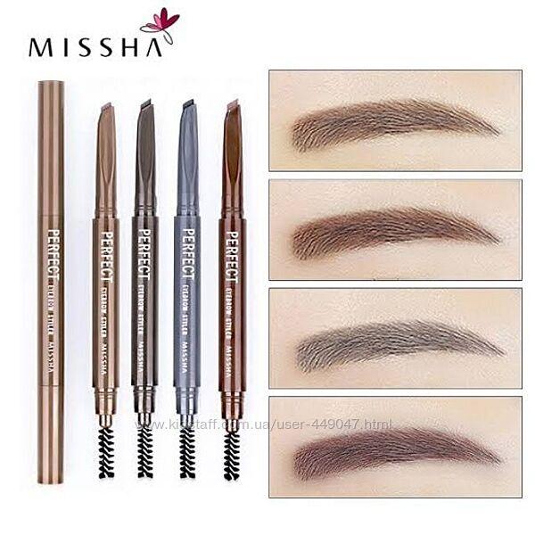 Автоматический карандаш для бровей Missha The Style Perfect Eyebrow Styler