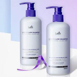 Оттеночный шампунь для устранения желтизны Lador Anti-Yellow Shampoo 300 мл