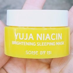 Осветляющая ночная маска SOME BY MI Yuja Niacin Brightening Sleeping Mask