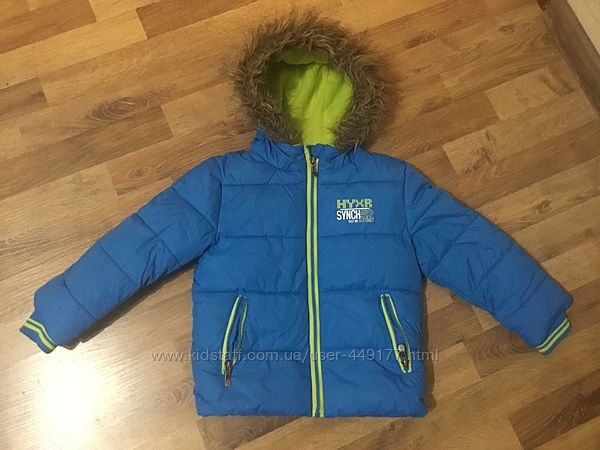 Зимняя куртка 110 рост