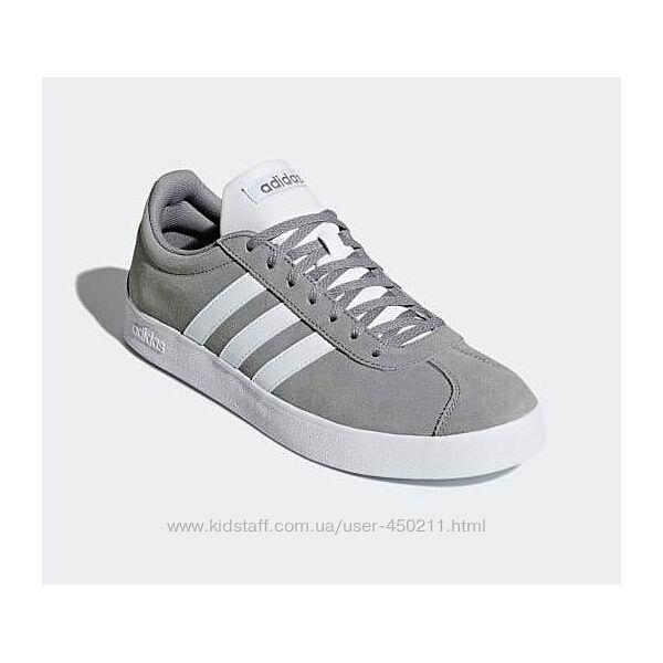 Детские замшевые кроссовки Adidas VL Court, оригинал