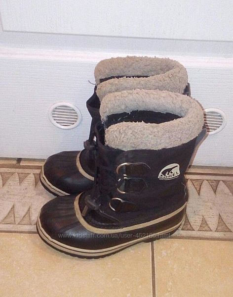 Ботинки сапоги Sorel, размер 33