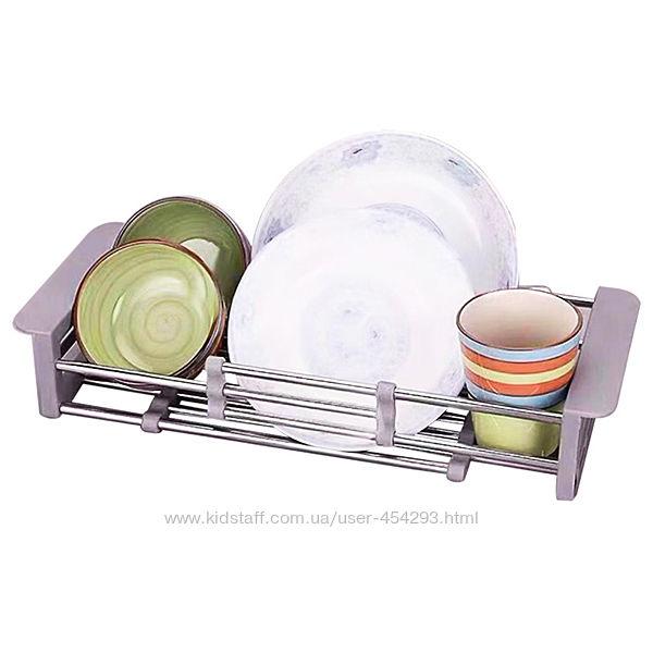 Раздвижная корзина коландер для кухонной мойки