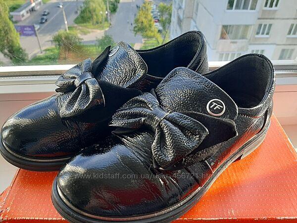 Шикарные туфли броги на девочку tiflani тифлани