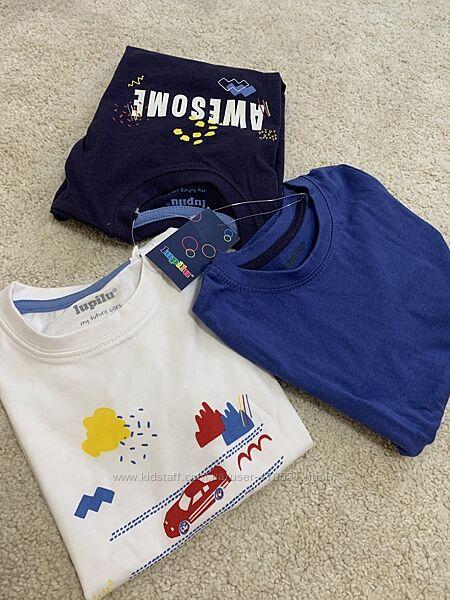Сет з 3-х футболок Lupilu 98-104см