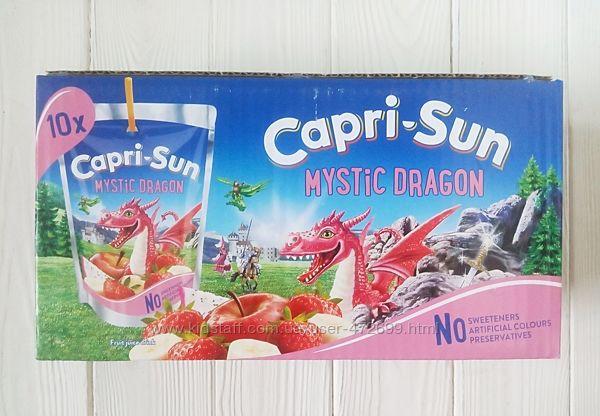 Сок с трубочкой Capri-Sun коробка 10шт 200ml Германия