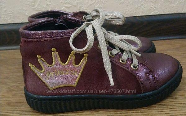 Ботинки демисезонные кожаные Toddler р-р 30