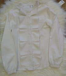 Блуза нарядная белая Timbo р-р 122
