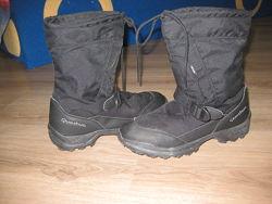 Зимние термо сапоги, ботинки Quechua р 39 по стельке 24,5 см