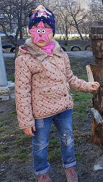 Демисезонная, легкая куртка TU, 4-5 лет, 104-110 см, отличное состояние