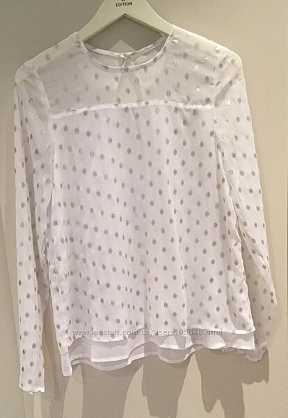 Новая нарядная блуза для старшеклассницы