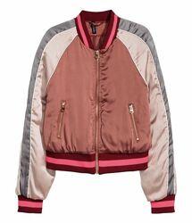 Бомбер ветровка куртка h&m