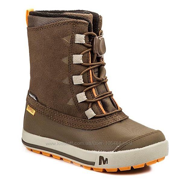 Зимние термосапоги Merrell Snow Bank Waterproof Boot 32р.