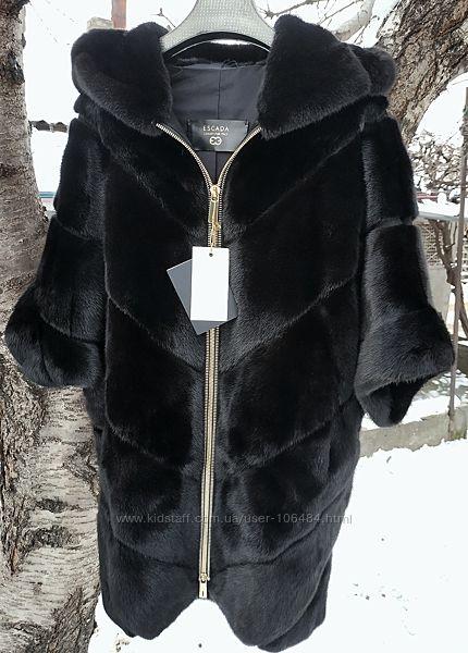 Новая норковая шуба Escada Blackglama ХС-Л. Оверсвйз.